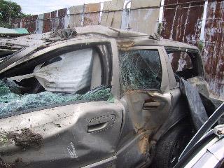 Volvo V70XC AWD Bad Crash Portland, Maine