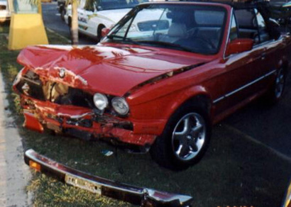 BMW California Car Accidents