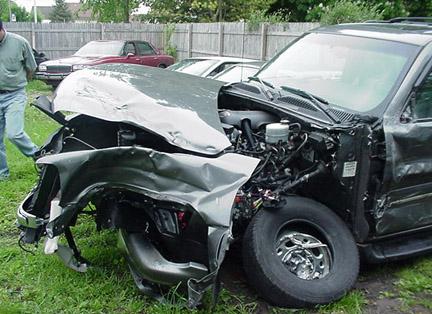 Midland Michigan Car Crash
