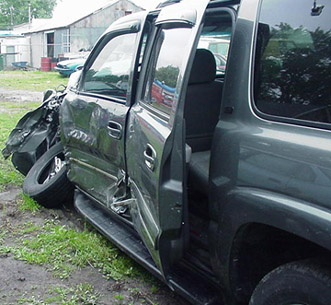 Chevrolet Suburban Accident