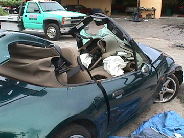 Bmw Z3 Accident Wrecked Crashes Pics Pictures Photos